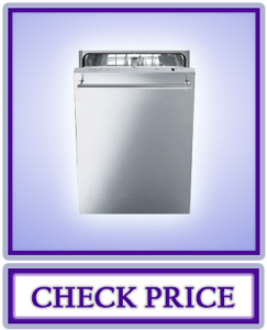 Smeg Fully Integrated Dishwasher with Stainless Steel Door